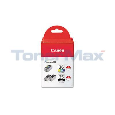 CANON PGI-35/CLI-36 INK BLACK AND COLOR